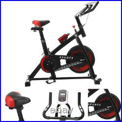 12kg Flywheel Stationary Home Exercise Spinning Gym Bike Fitness Workout Cardio