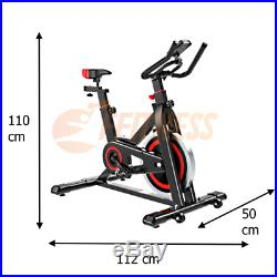 13kg Spinbike Cyclette Bici Da Spinning Volano Cardio Fitness Bicicletta Casa