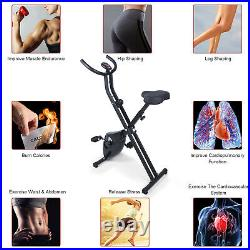 4IN 1 Fitness XLR-8 Foldable Exercise Bike Adjustable Resistance Cardio Workout