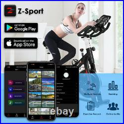 Bluetooth Exercise Bikes Indoor Cycling Bike Bicycle Home Fitness Workout Cardio