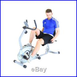 Charles Bentley Recumbent Exercise Bike with 8 Level Magnetic Resistance System