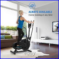 Cross trainer Elliptical Exercise bike Cardio fitness Training Computer Gym Home