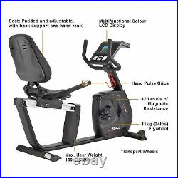 DKN Recumbent Exercise Bike RB-4i Stationary Cardio Workout Fitness Machine