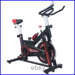 Esprit Home Spin Exercise Bike Flywheel Indoor Workout Fitness LCD Monitor