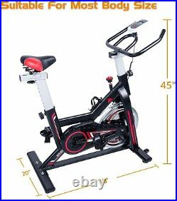 Exercise Bicycle Indoor Fitness Cycling Bike fr Home Gym Cardio Workout Training