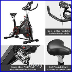 Exercise Bike Cycling Bicycle Cardio Fitness Workout with Adjustable Resistance