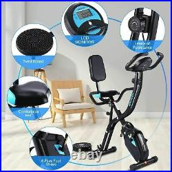Exercise Bike Gym Equipment Home Cycling Folding Bikes Indoor Fitness with APP