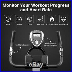 Exercise Bike Home Gym Bicycle Cycling Cardio Training Fitness Indoor ODO withLCD