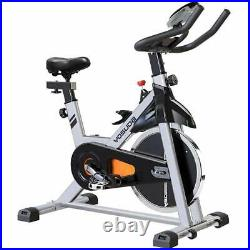 Exercise Bike Indoor Cycling Fitness Cardio Home Gym Workout 35lbs Flywheel