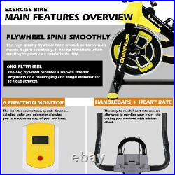 Exercise Bike Spin Home Gym Bicycle Cycling Cardio Fitness Training Indoor 150kg