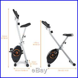 Exercise Bike X Bike Cardio Cycling Trainer Fitness Workout Machine 6kg Flywheel