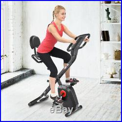 Exercise Bike X Bike Folding Indoor Fitness Cardio Trainer Workout Machine 100kg