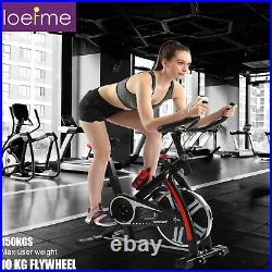 Exercise Bikes Indoor Cycling Bike Bicycle with10kg Flywheel and LCD Display UK