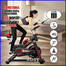 Exercise Spin Bike 11KG Flywheel Cycling Bicycle Fitness Indoor Home Training A