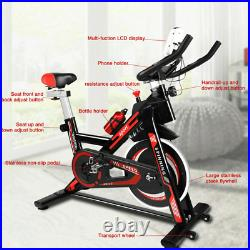 Exercise Spin Bike Home Gym Bicycle Cycling Cardio Fitness Training Indoor Bike