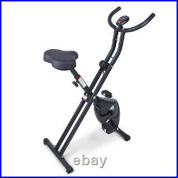 Exercise X Bike Foldble Quiet Magnetic Indoor Bicycle Home Gym Fitness Trainer