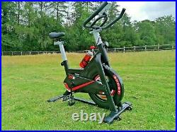 Exercise spin bike Indoor Home gym workout cycling fitness 8kg flywheel NEW UK