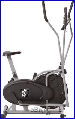 F4H CTS803 Pulse Air Elliptical Cross Trainer & Exercise Bike Fitness Home Grey