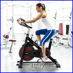 Finether Heavy Duty Exercise Bike Fitness Cardio Gym Home Workout Indoor Machine