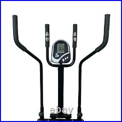 Fit4home 2 in 1 Elliptical Cross Trainer Exercise Bike Fitness Exercise Machine
