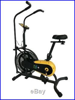 Fit4home AB12 Dual Action Air Bike Home Exercise Fitness Cross Trainer Aerobic