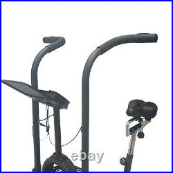 Fit4home Air Bike Heavy duty Fitness Exercise Commercial Cardio Indoor Trainer