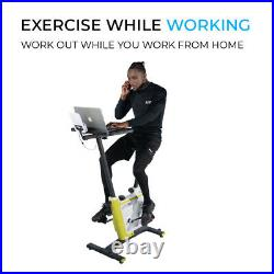 Fit4home Exercise Bike Indoor Upright Home Gym Cardio Fitness Workout Machine