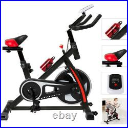 Flywheel Exercise Bike Home Gym Bicycle Spinning Cardio Fitness Training Indoor