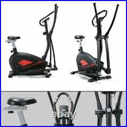 Fnova Cross Trainers Elliptical Trainer Exercise Bike 4 in 1 for Indoor Fitness