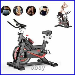 Fnova Exercise Spin Bike Home Gym Bicycle Cycling Cardio Fitness Training Indoor