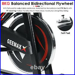 GEEMAX Exercise Bike Gym Cycle Indoor Sports Training Fitness Home 8kg Flywheel