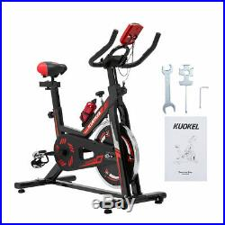 Heavy Duty Exercise Bike Home Gym Cardio Bicycle Cycling Cardio Fitness Training