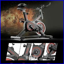 Home Exercise Bike Ultra Quiet Indoor Spinning Cardio Trainer Cycle 250kg