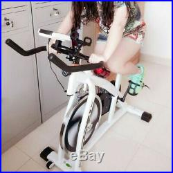 Home Exercise Bike Ultra Quiet Indoor Spinning Cardio Trainer Cycle Carbon Steel