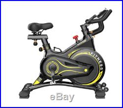 Home Exercise Bike Ultra Quiet Silent Indoor Spinning Cardio Trainer Cycle 150kg