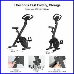 Home Gym Exercise Bike/Cycle Magnetic Trainer Cardio Fitness Workout Sport Bike