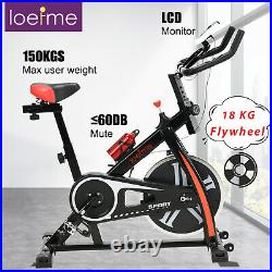Home Gym Indoor Exercise Trainer Bike Fitness Workout Machine BurnCalories Black
