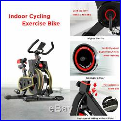 Home Indoor Aerobic Exercise Bike Gym Cycling Fitness Cardio Workout Machine New