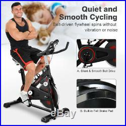 Home Indoor Exercise Bike/Cycle Gym Magnetic Trainer Cardio Fitness Workout Bike