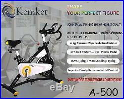Indoor Bike Indoor Cycling Aerobic Exercise Bicycle Fitness Gym By Kemket A500