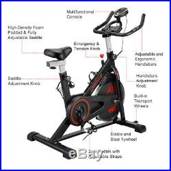 Indoor Spin Bicycle Cycling Exercise Bike Stationary Fitness Gym Cardio Workout