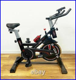 Indoor Spin Exercise Bike Flywheel Home Workout Resistance Fitness Training LCD