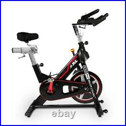 JLL IC400 Pro Indoor Cycling Exercise Bike, Direct Belt Driven, 22kg Flywheel