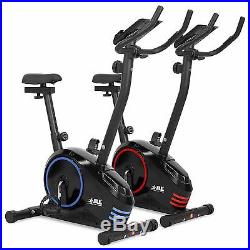 JLL JF150 Upright Exercise Bike, Magnetic Resistance, 6 Function Monitor