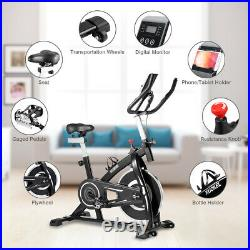 KUOKEL Exercise Bike Home Gym Bicycle Cycling Cardio Fitness Training Indoor LCD