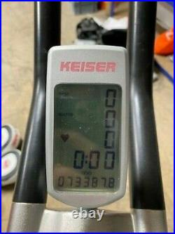 Keiser M3 Spin Bike, Exercise Bike. Weights Home gym