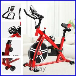 LOEFME Exercise Bike Home Gym Bicycle Indoor Upright Cycling Bike Cardio Workout