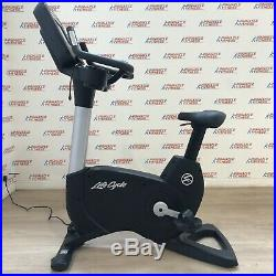 Life Fitness 95C Discover Si Commercial Upright Bike Refurbished
