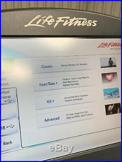 Life Fitness 95C Engage Upright Bike (delivery May Be Available)