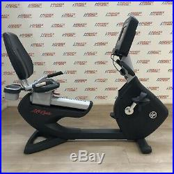 Life Fitness 95R Discover Si Commercial Recumbent Bike Refurbished